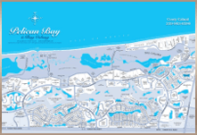 Naples Bay Colony Real Estate Community Map