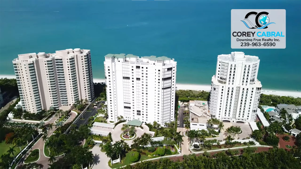 Biltmore at Bay Colony Beachfront High Rise Condos Real Estate for Sale in Naples