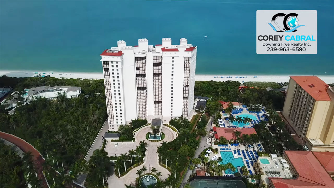 Remington at Bay Colony Beachfront High Rise Condo Real Estate for Sale in Naples
