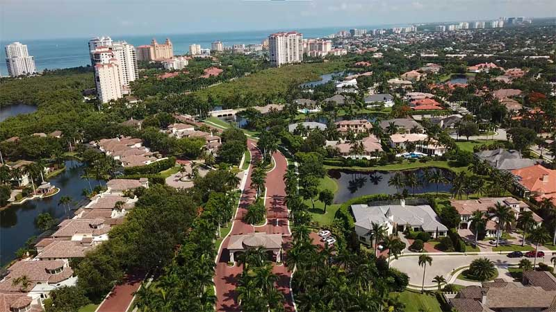 Bay Colony Real Estate Drone Video in Naples, Florida